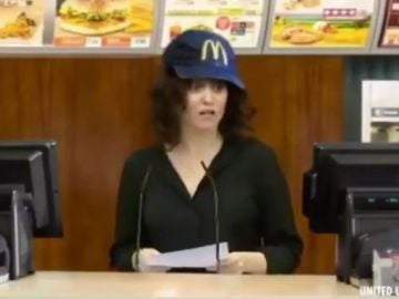 Isabel Díaz Ayuso en un meme