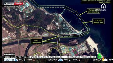 Detectan por satélite movimientos de los yates de lujo de Kim Jong-un en Corea del Norte