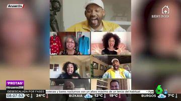 La videollamada de Will Smith con el reparto de 'El Príncipe de 'Bel-Air' que arrasa en redes
