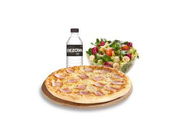 Uno de los menús escolares de Telepizza para niños con bajos recursos