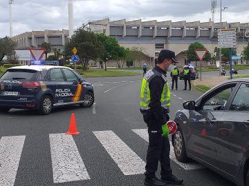 Los controles en carreteras se intensifican con motivo del puente de Mayo
