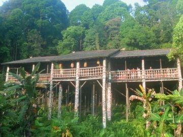Longhouse, Malasia