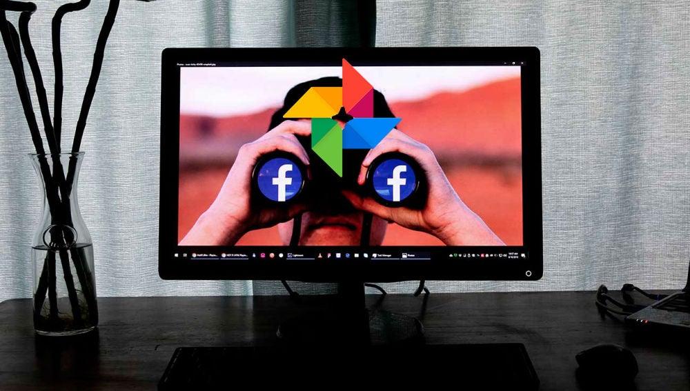 Google Fotos y Facebook