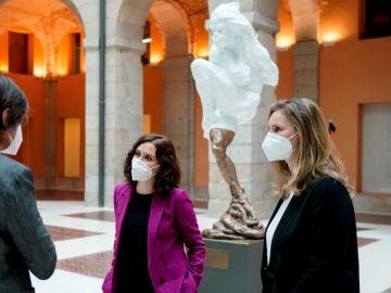 Escultura de Madrid en homenaje a las víctimas del coronavirus