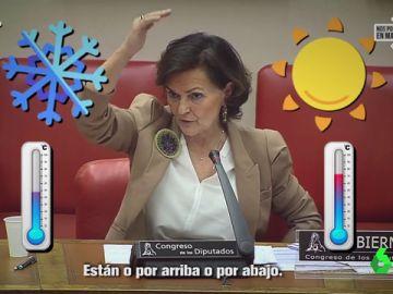 """""""Problemón"""": el hitazo de Carmen Calvo sobre la incidencia del coronavirus en el mundo que te contagiará las ganas de bailar"""
