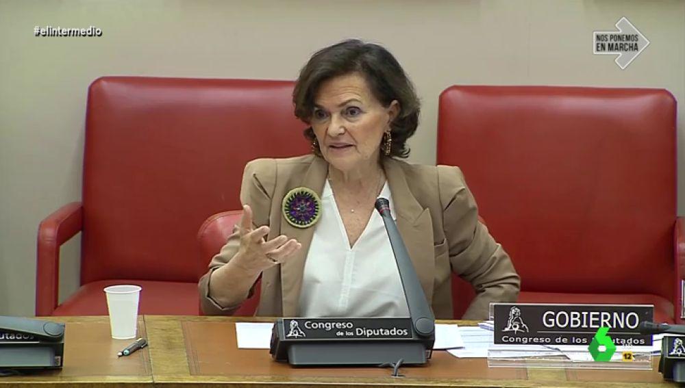 La 'teoría científica' de Carmen Calvo sobre la relación entre la latitud y la incidencia del coronavirus