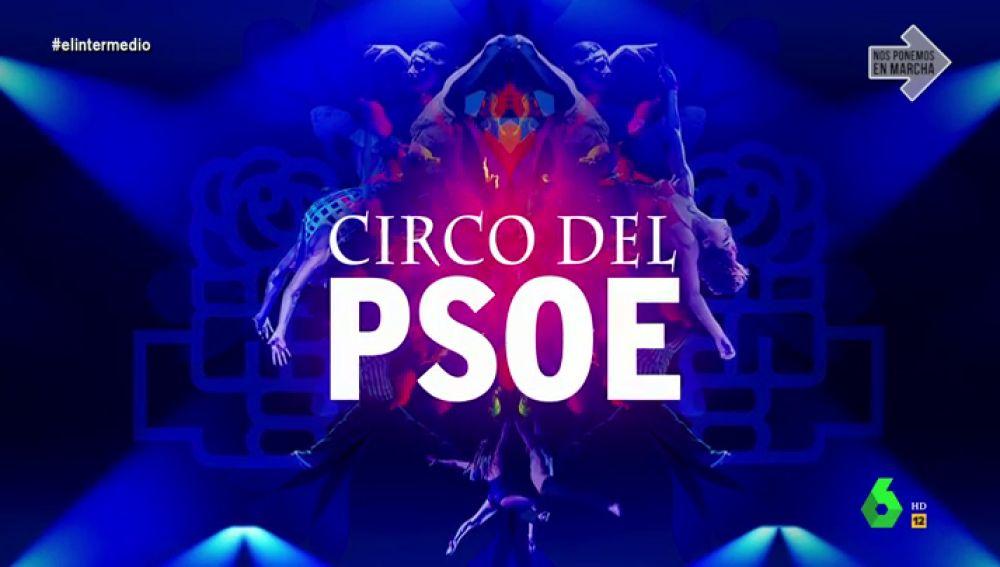 """Wyoming presenta 'El Circo del PSOE': """"Disfrutemos viendo cómo hacen malabares que nos pueden llevar a una crisis sin precedentes"""""""