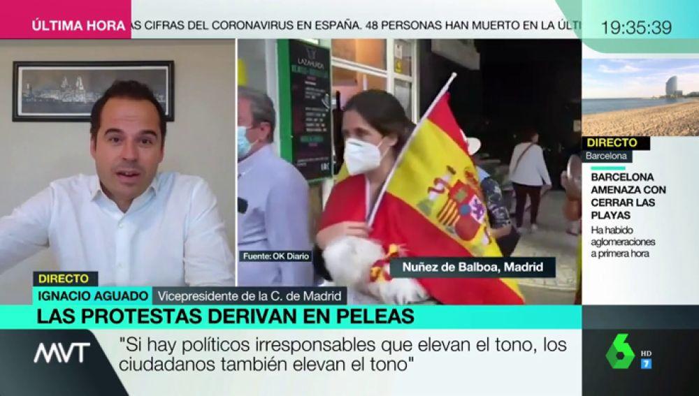 """Igancio Aguado: """"No es el momento de rifirrafe político, siento vergüenza"""""""