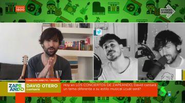 """La historia detrás del dúo entre David Otero y Cepeda interpretando a El Canto del Loco: """"Me eligió él"""""""