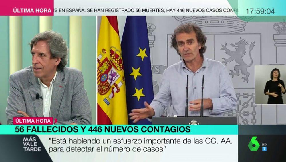 El presidente del Colegio de Médicos de Madrid