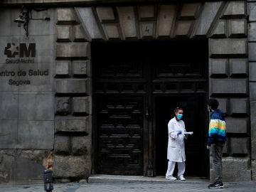 Centro de salud en la ciudad de Madrid