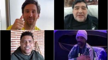 Messi, Maradona, Ronaldo y Snoop Dogg mandan apoyos a Turki
