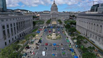 Campamento para personas sin hogar de San Francisco