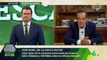 """José Bono: """"Sánchez no conocía el pacto de la reforma laboral, ni sus términos ni que se había firmado"""""""
