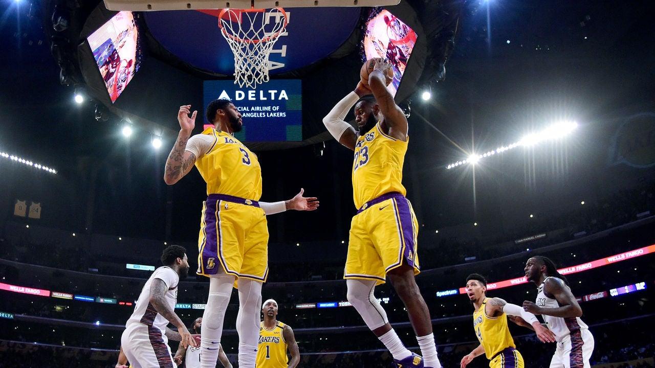 Encuentro entre Brooklyn y los Lakers
