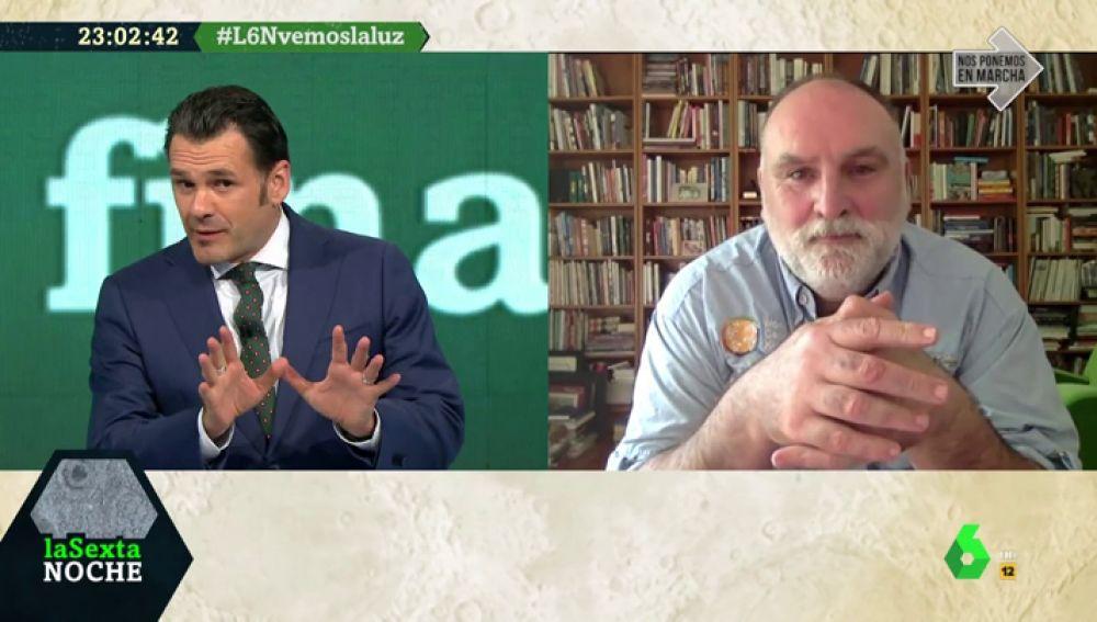 """El chef José Andrés: """"Hay una crisis humanitaria mundial y no habrá una solución próxima, hay que adelantarse"""""""