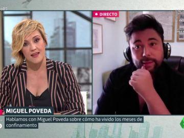 """Así fue el encuentro 'online' del cantaor Miguel Poveda con los reyes: """"Sentí que había un interés por nuestra situación"""""""