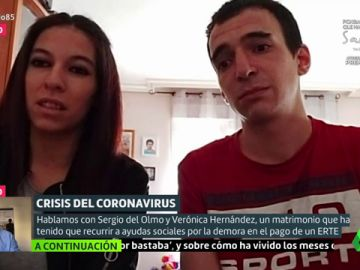"""El drama de Sergio y Verónica: """"Debemos dos meses de alquiler y tenemos las facturas pendientes"""""""