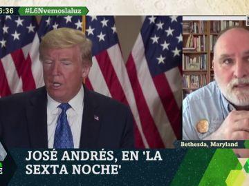 """El chef José Andrés: """"La política ocupa la primera plana cuando se tendría que poner a un lado"""""""