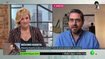 Cristina Pardo y Máximo Huerta