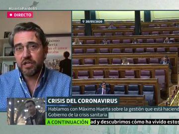 Máximo Huerta en Liarla Pardo
