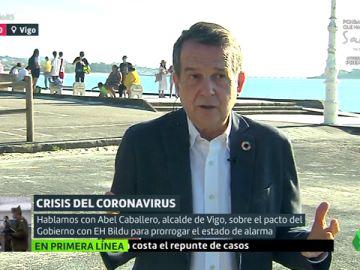 """Abel Caballero, sobre el pacto con Bildu: """"Si el PP lo hubiera apoyado el Estado de Alarma no habríamos llegado a esto"""""""