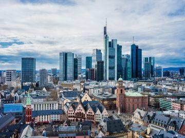 Imagen de archivo de la ciudad alemana de Frankfurt