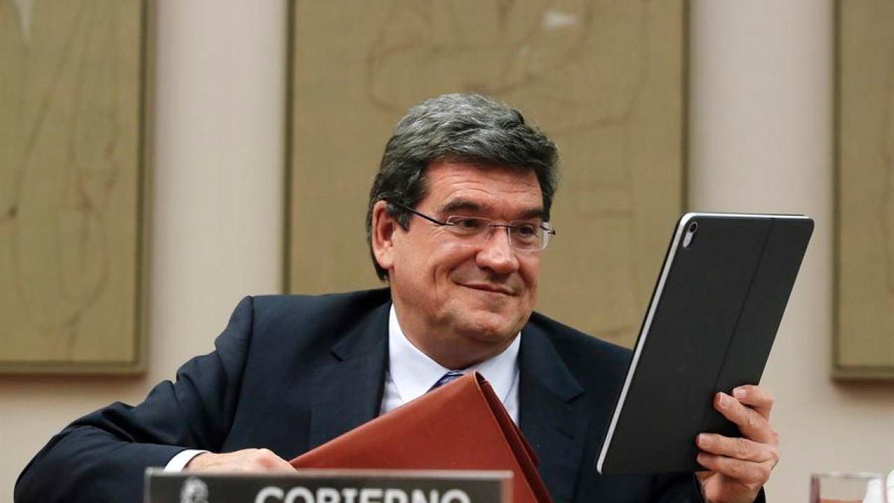El ministro de Seguridad Social, José Luis Escrivá