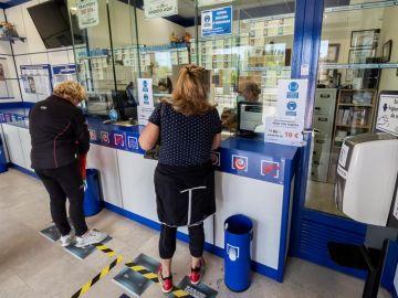 Las administraciones de Lotería vuelven a abrir sus puertas.
