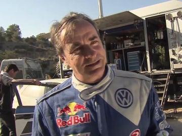 El veterano piloto español, Carlos Sainz