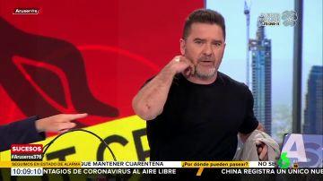 La llamada de Carlos Quílez a Aruser@s tras sufrir un accidente de tráfico