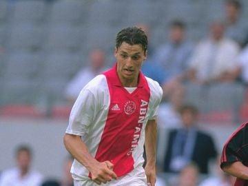 Zlatan Ibrahimovic, durante su etapa en el Ajax