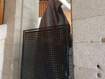 La estatua 'Héroes de la Covid-19'