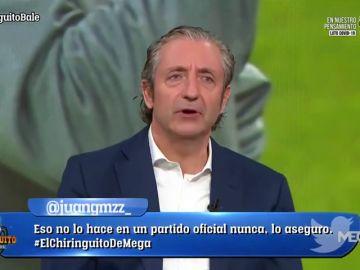 """La contundente respuesta de Josep Pedrerol a Gareth Bale: """"Te pitan por tu falta de compromiso"""""""