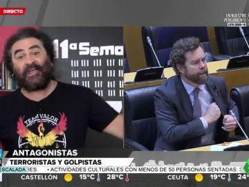 La aplaudida recreación en verso de El Sevilla de lo que podría ser un rifirrafe entre Iglesias y los partidos de derechas