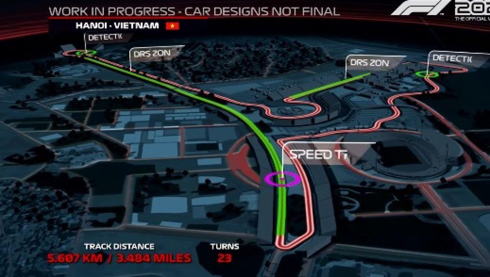 La F1 muestra los secretos del nuevo circuito urbano de Hanoi