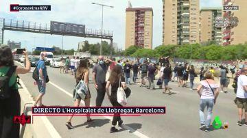 Los trabajadores de Nissan Barcelona cortan las carreteras en protesta por el cierre de la planta
