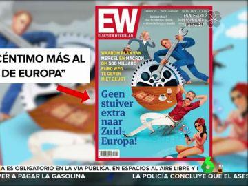 Un semanario holandés tilda de 'vagos' a los ciudadanos del sur de Europa
