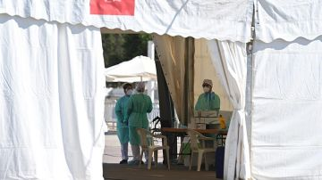 Test de seroprevalencia en el recinto ferial de Torrejón de Ardoz