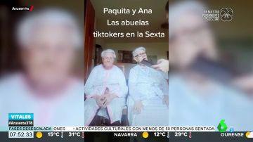"""La emoción de Paquita y Ana, las abuelas 'tiktokeras', tras descubrir que han salido en Aruser@s: """"¡Qué categoría!"""""""