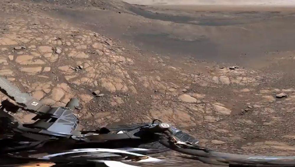 Las impresionantes imágenes de Marte tomadas por la NASA con una cámara de 1.800 millones de píxeles
