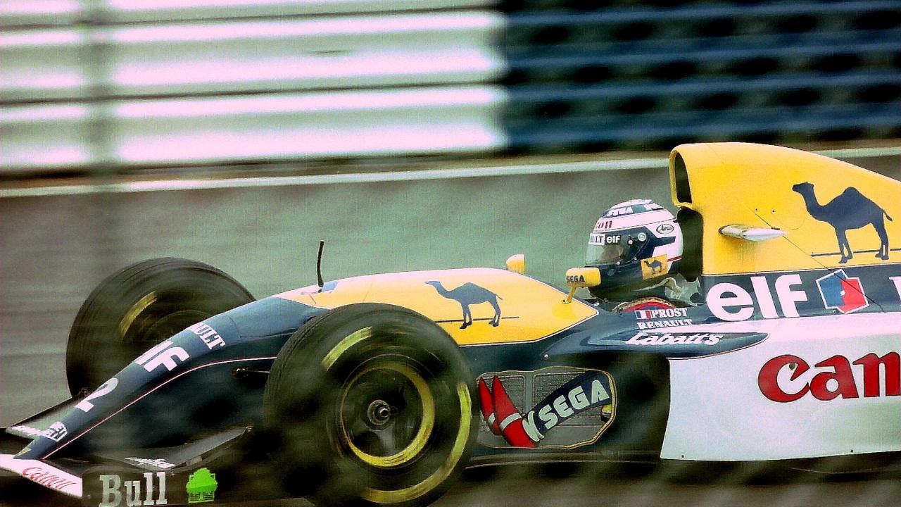 Alain Prost, en el Williams