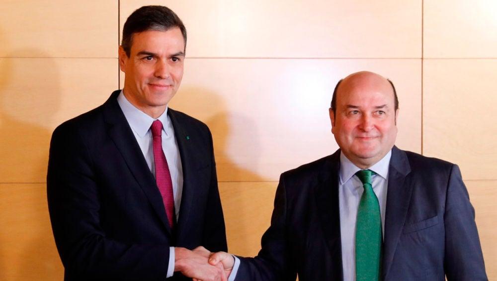 Sánchez y Ortuzar en una imagen de archivo