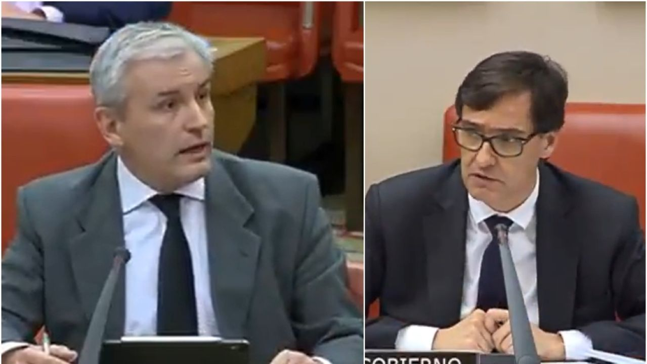 Salvador Illa responde al diputado del PP Juan Antonio Callejas