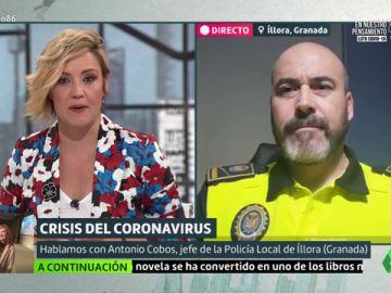 Técnicas policiales para encontrar posibles contagios de Covid-19: así intenta Íllora frenar la epidemia