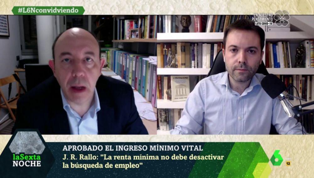 Bernardos y Rallo debaten sobre el Ingreso Mínimo Vital: ¿aumentaría la economía sumergida con esta medida?