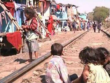 Imagen de la pobreza infantil en el mundo