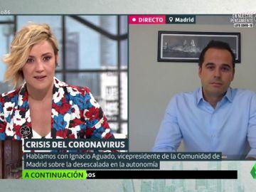 """Ignacio Aguado: """"Me llevo muy bien con la presidenta de Madrid, pero estamos en el centro de todas las miradas"""""""