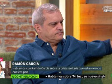 """La emotiva reflexión de Ramón García tras la muerte de Aless Lequio: """"No se puede sobrevivir a un hijo, pero Ana Obregón es muy fuerte"""""""