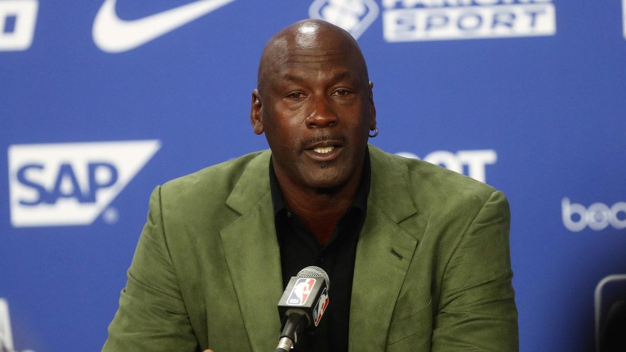 Michael Jordan, exjugador de la NBA